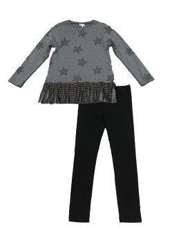 IDO conjunto legging sudadera estrellas