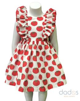 Mon Petit Bonbon vestido tomates