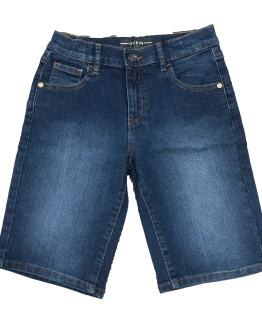 Guess bermuda chico denim lavado medio