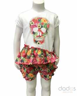 Lolittos colección Coco short con camiseta volante