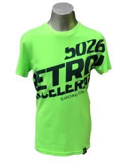 Petrol Camiseta chico verde fluor letras azul