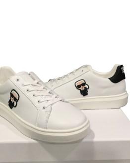 Karl Lagerfeld zapatilla Ikonik blanca