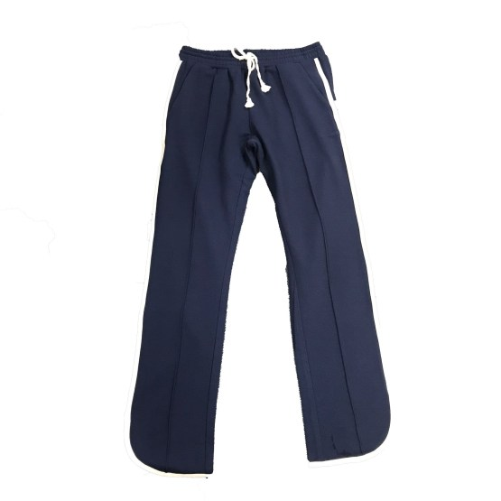 Elsy jogging chica azul marino banda lateral cruda
