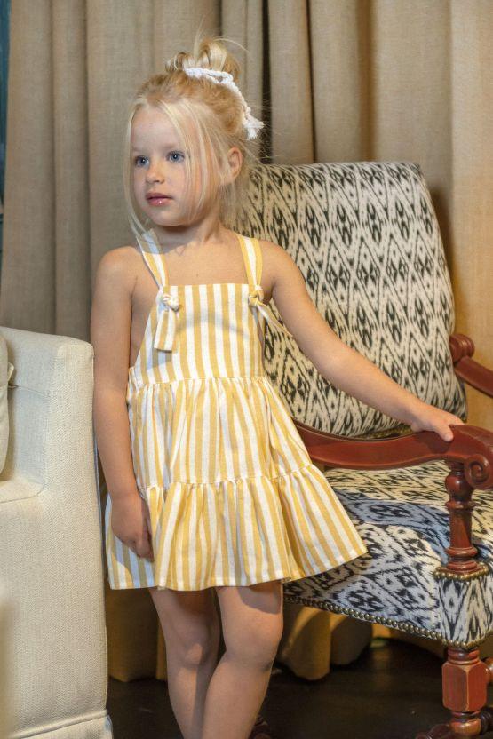 Imagen catálogo vestido rayas Cocote 2