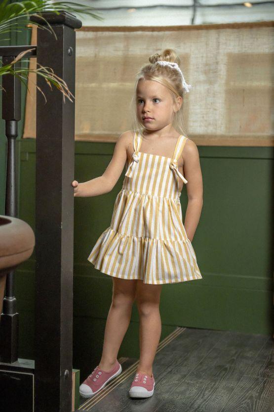 Imagen catálogo vestido rayas Cocote