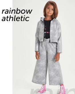 Catálogo Sarabanda chaqueta chica capucha gris plata