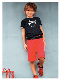 Sarabanda colección Ducati jogging chico rojo