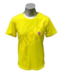 Sarabanda colección Ducati camiseta chico amarilla maxi logo
