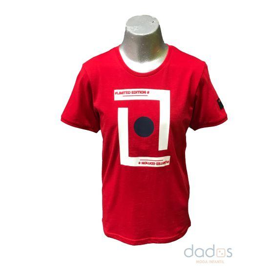 Sarabanda camiseta chico roja