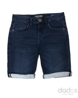Cars Jeans bermuda joggjeans lavado oscuro