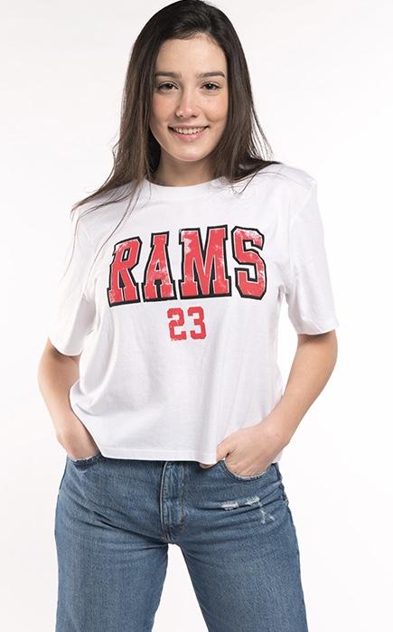 Rams 23 camiseta chica Yankee blanca catálogo