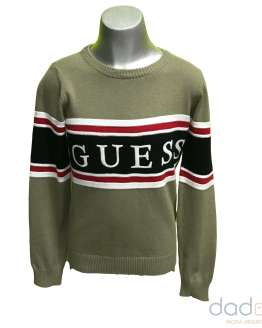 Guess jersey chico verde
