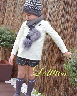 Lolittos colección Agus conjunto niño bermuda y camisa