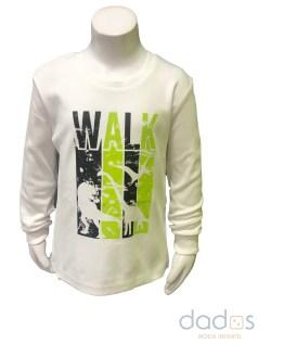 IDO camiseta niño crudo WALK