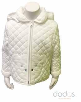 IDO chaquetón microfibra térmico bebé crudo osito