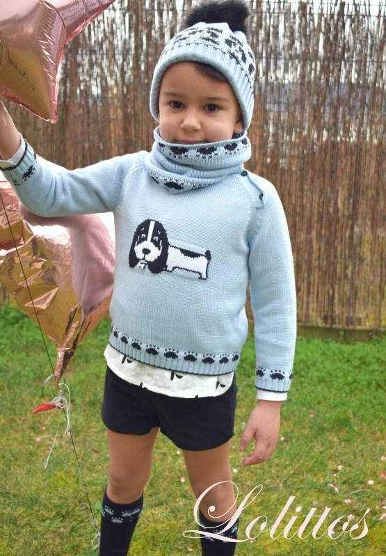Propuesta conjunto con jersey de la misma familia