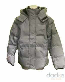 Timberland chaquetón chico gris plata