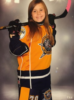 Hockey season Allie Pic