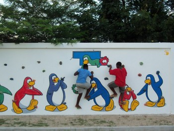 Club Penguin Build a School