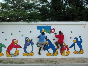 Club Penguin Build a School