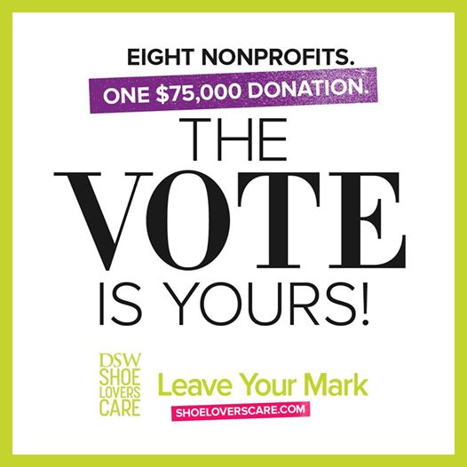 DSW vote for charity