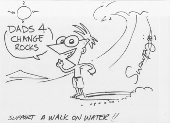 A Walk on Water Dads 4 Change Swampy Marsh