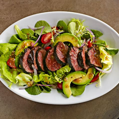 Venison Tenderloin Salad with Avocado and Tomato - Episode 17 - Dads Can Cook Too - Cooking Live