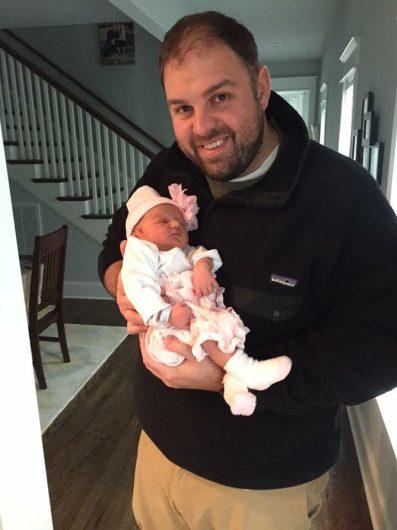 Bringing Sofia Home from Hospital