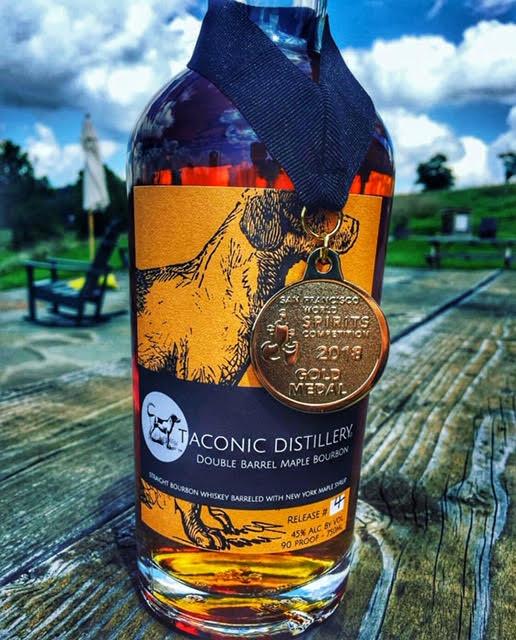 Taconic Double Barrel Maple Bourbon