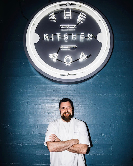 Chef Matt Bolus from 404 Kitchen and Gertie's Bar