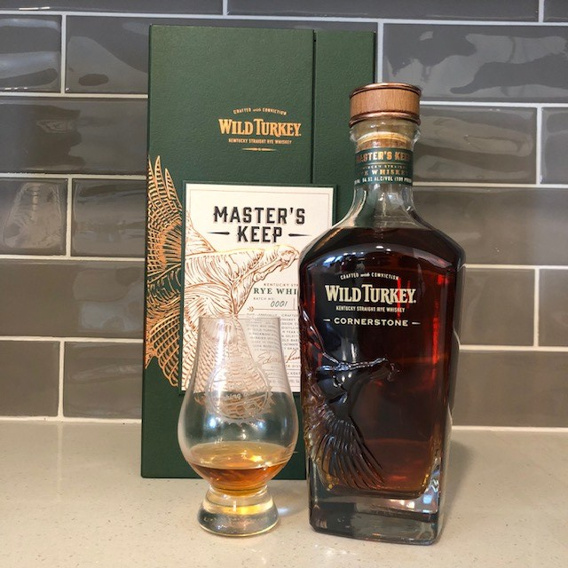 Wild Turkey Master's Keep Cornerstone Rye