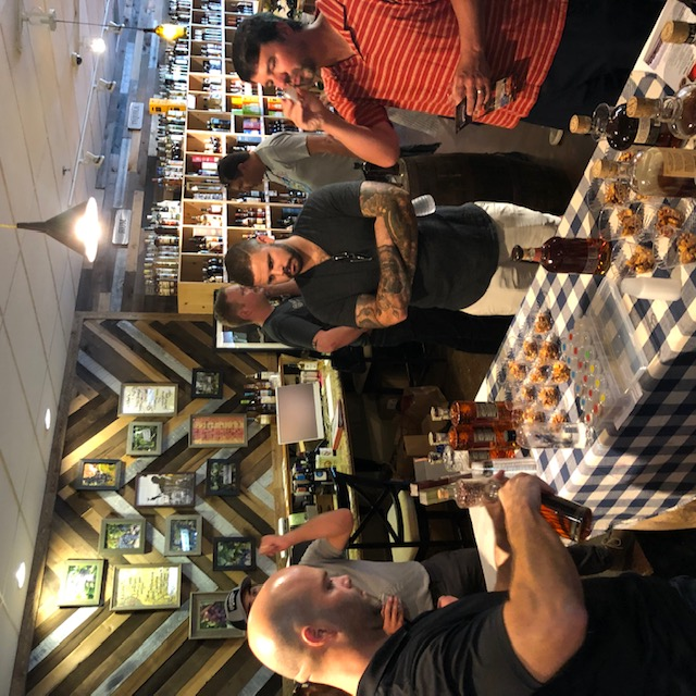 Bourbon Social at Franklin Wine and Spirits