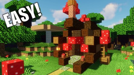 How to Build a Fairy House in Minecraft: Video with Building Guide