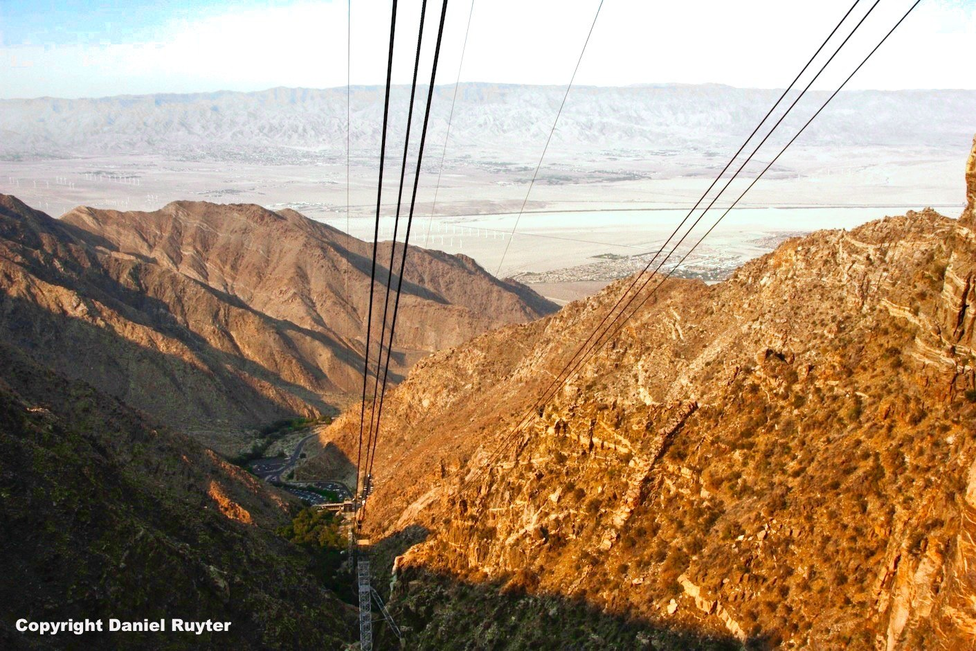 Palm Springs Aerial Tram Review - View on the Way Up