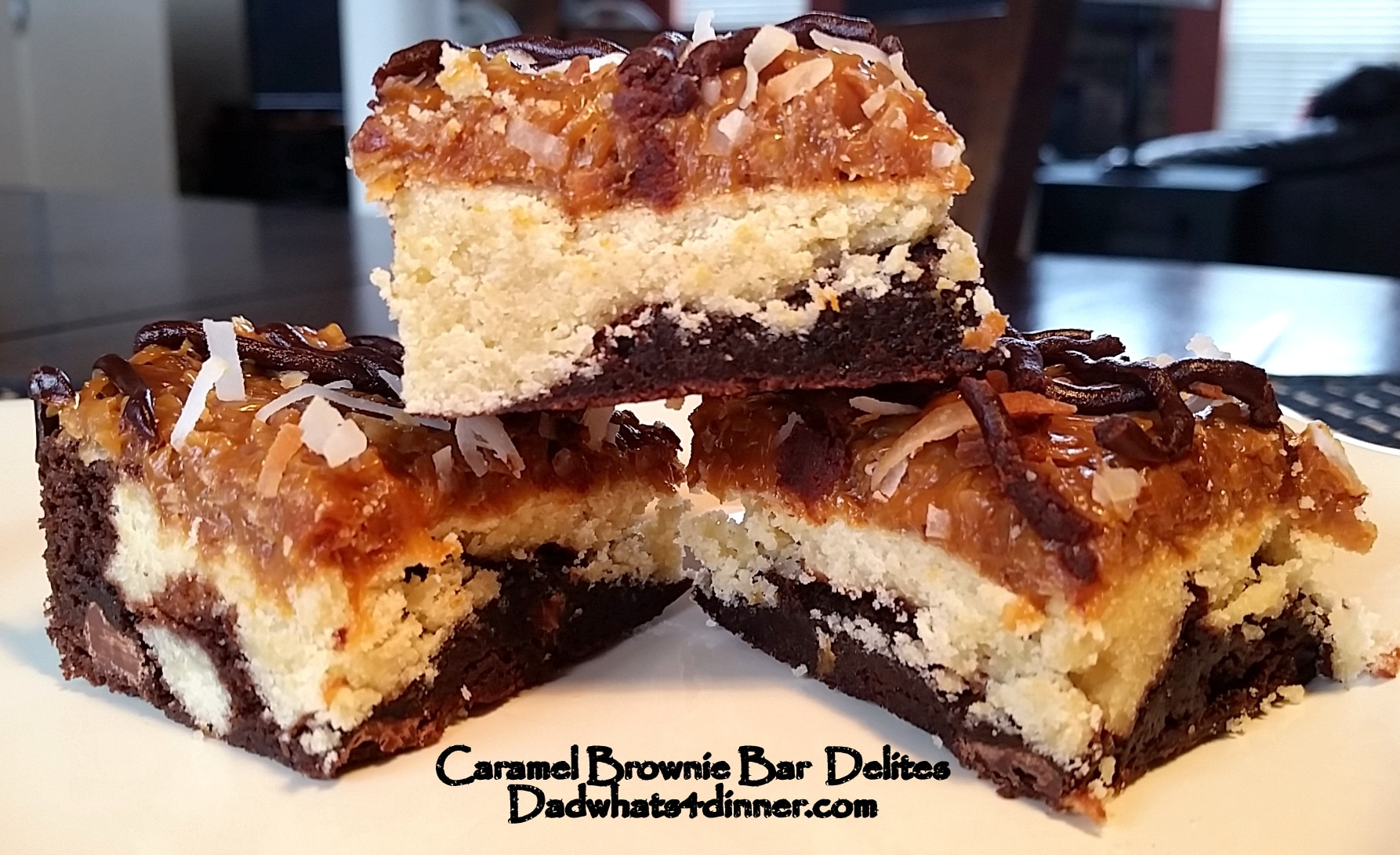 Caramel Brownie Bar DeLites | www.dadwhats4dinner.com ©