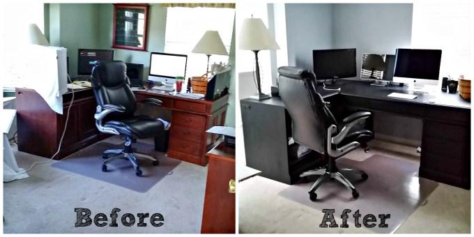 Office Remodel | https://dadwhats4dinner.com