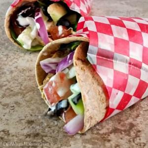 Crock PotCrock Pot Chicken Ranch Fiesta Wraps | http://dadwhats4dinner.com