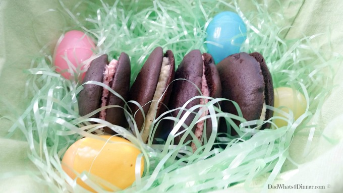 "An alternative to store bought Easter candy, these Whoopie Pies would be the perfect treat from the ""Bunny""."