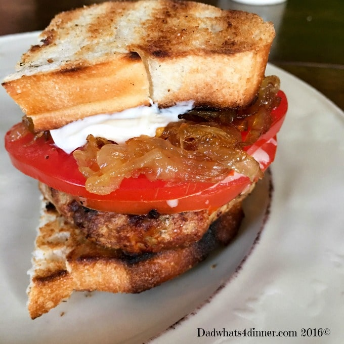 The taste of Italy comes alive in my Tuscan Chicken Burger.