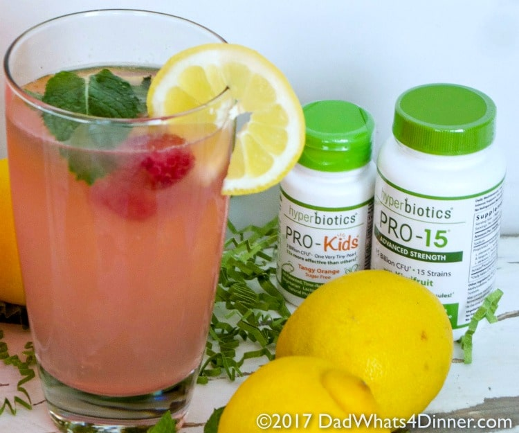 Probiotic Pink Lemonade is a healthy, fizzy, fermented drink perfect for summer, sure to keep your gut in shape. Sweet and tart with beneficial probiotics.