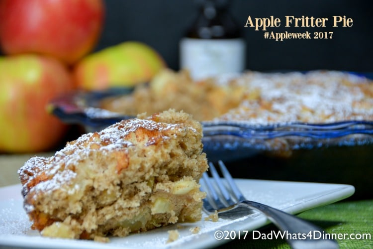 Apple Fritter Pie