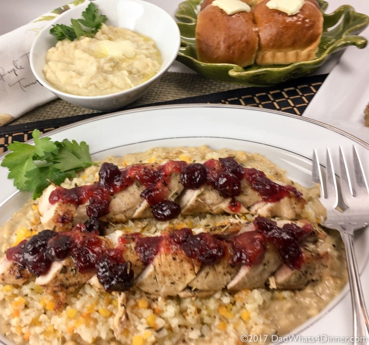 Just because there are only two of you doesn't mean you can't have an Elegant Thanksgiving Dinner for Two. Bonus the dinner can be on the table in about 30 minutes.