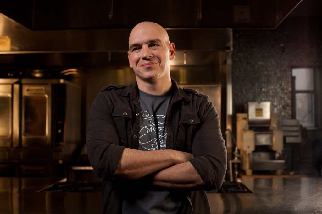 Picture of Michael Symon for his New Cookbook, www.dadwhats4dinner.com