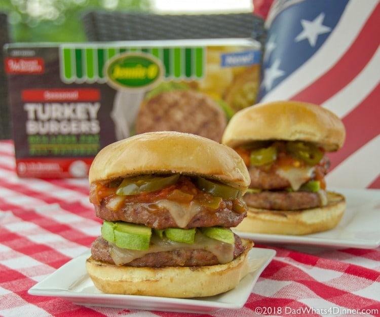 Firecracker Grilled Turkey Burgers Dad Whats 4 Dinner