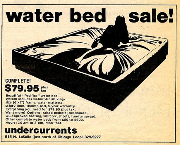 who invented the water bed