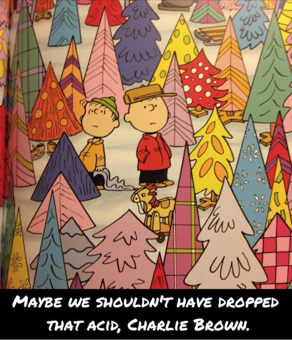 Charlie Brown on Acid