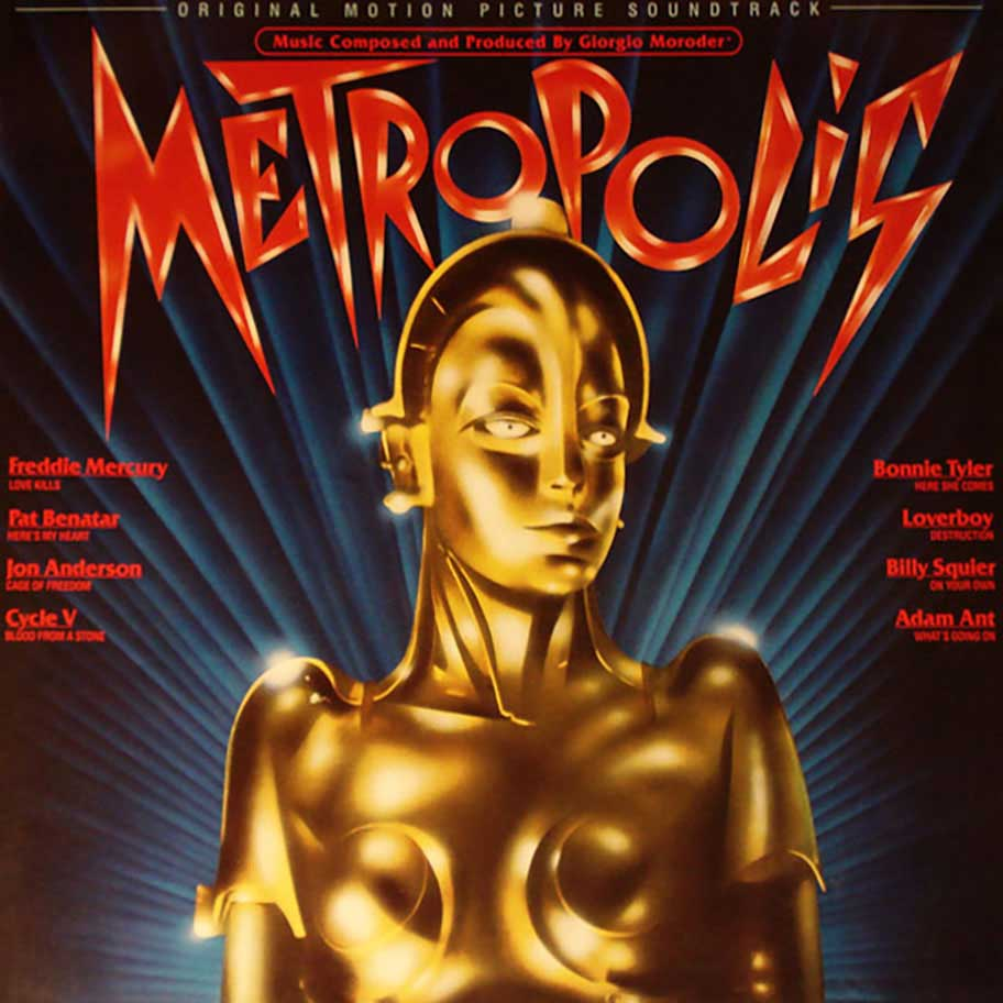 On Anthony Burgess and Inspiration: The Me in The Metropolis Movie