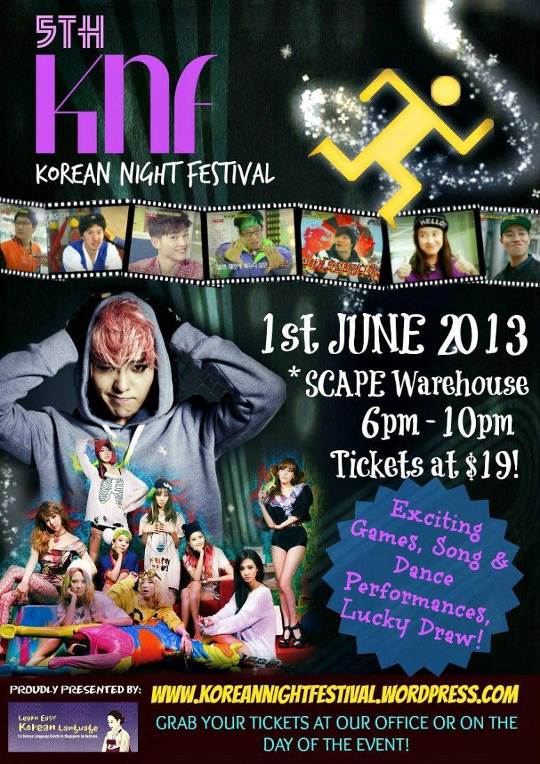 5th Korean Night Festival organized by Daehan Korean