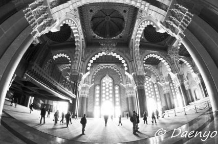 Inside Hassan II Mosque, Casablanca