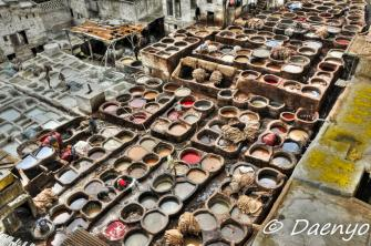Tannery, Fez
